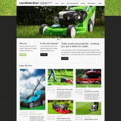 Responsive Joomla Vorlage für Landschaftsgestaltung