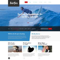 Surfing Responsive Joomla Template