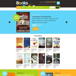 Responsives WooCommerce Theme für Bücher
