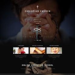 Responsives WordPress Theme für Christliche