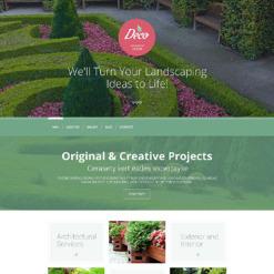 Exterior Design Responsive WordPress Theme