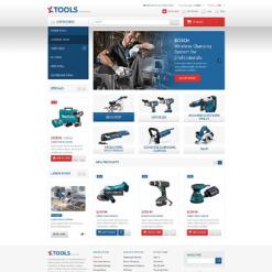 Tools & Equipment Responsive Magento Theme