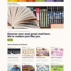 Book Reviews Responsive WordPress Theme