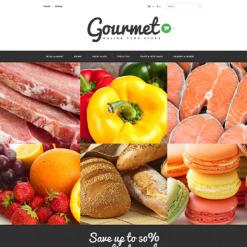Responsives PrestaShop Theme für Lebensmittelgeschäft