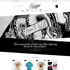 T-shirt Shop Responsive Shopify Theme