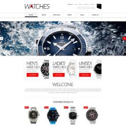 Responsives WooCommerce Theme für Uhren
