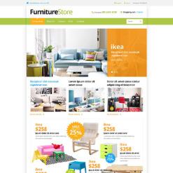 Responsive VirtueMart Vorlage für Möbel