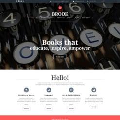 Publishing Company Responsive Joomla Template