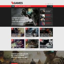 Game Portal Responsive Drupal Template