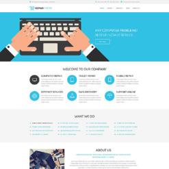 Computer Repair Responsive WordPress Theme