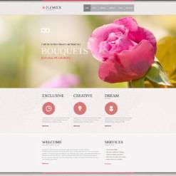 Flowers Responsive Joomla Template