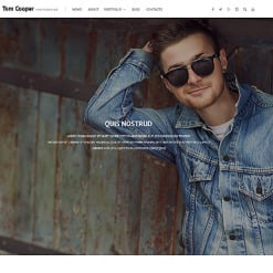 Responsives WordPress Theme für Fotografen Portfolio
