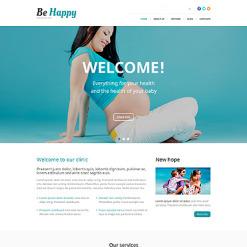 Reproduction Clinic Responsive WordPress Theme