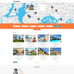 Responsives WordPress Theme für Immobilienagentur