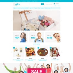 Gifts Store Responsive Magento Theme