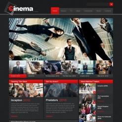 PSD Vorlage für Film