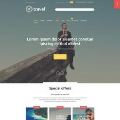 Travel Agency Responsive Magento Theme