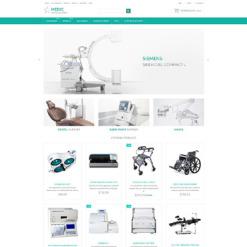 Responsywny szablon ZenCart #54715 na temat: wyposażenie medyczne