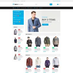 Responsives Magento Theme für Mode-Shop