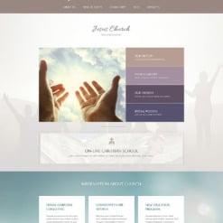 Responsives WordPress Theme für Religiöse