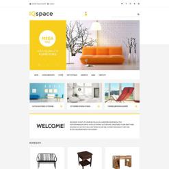 Responsive VirtueMart Vorlage für Innenausstattung und Möbel