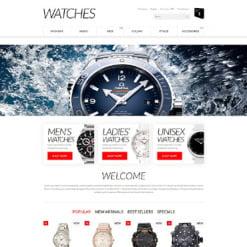 Responsives PrestaShop Theme für Uhren