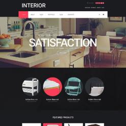 Responsives WooCommerce Theme für Innenarchitektur