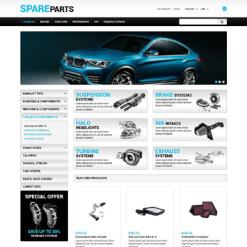 Responsywny szablon ZenCart #55219 na temat: części samochodowe
