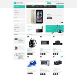 Responsives Shopify Theme für  Elektronikgeschäft
