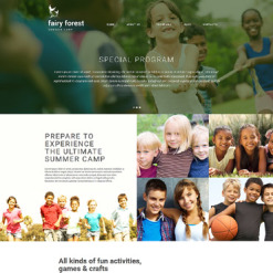 Summer Camp Responsive Joomla Template