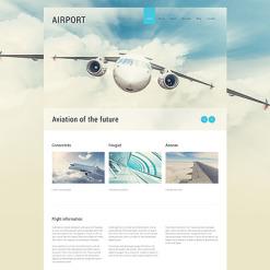 Private Airline Responsive Joomla Template