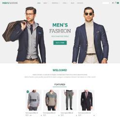Responsives WooCommerce Theme für Mode-Shop