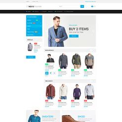 Responsives PrestaShop Theme für Mode-Shop