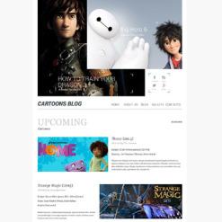 Responsives WordPress Theme für Unterhaltung