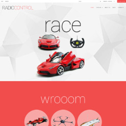 Responsive VirtueMart Vorlage für Spielzeuggeschäft