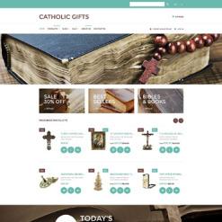 Responsives Shopify Theme für Katholische Kirche