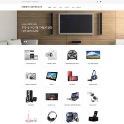 Responsives WooCommerce Theme für  Elektronikgeschäft