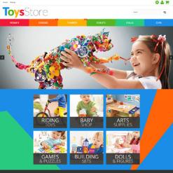 Responsives PrestaShop Theme für Spielzeuggeschäft