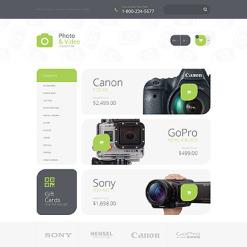 Responsive OpenCart Vorlage für Fotolabor