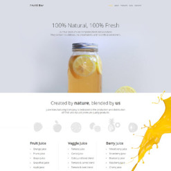 Cocktail Bar Responsive WordPress Theme