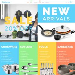 Responsives WooCommerce Theme für Haushaltswaren
