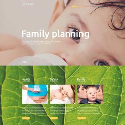 Responsives WordPress Theme für Familienzentrum