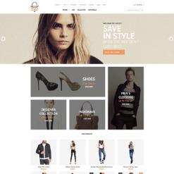 Адаптивный Magento тема №56098 на тему Шаблон магазина одежды