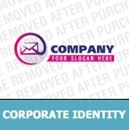 Email Services Corporate Identity Template