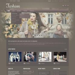 PSD Vorlage für Mode-Blog