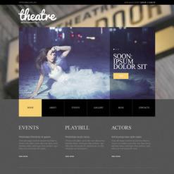 PSD Vorlage für Theater