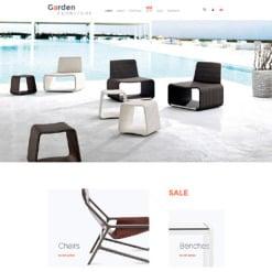 Responsives WooCommerce Theme für Möbel