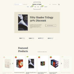 Book Store Responsive Tema Shopify