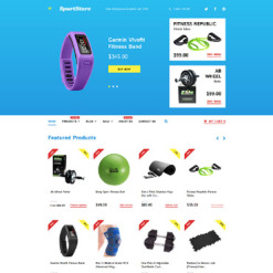 Sports Store Responsive Tema Shopify