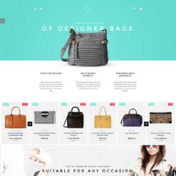 Responsives Shopify Theme für Handtasche